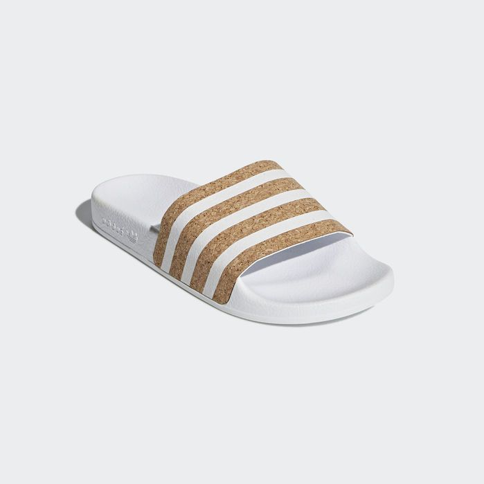 2c4d83678 Adilette Slides Cloud White 4 Womens in 2019