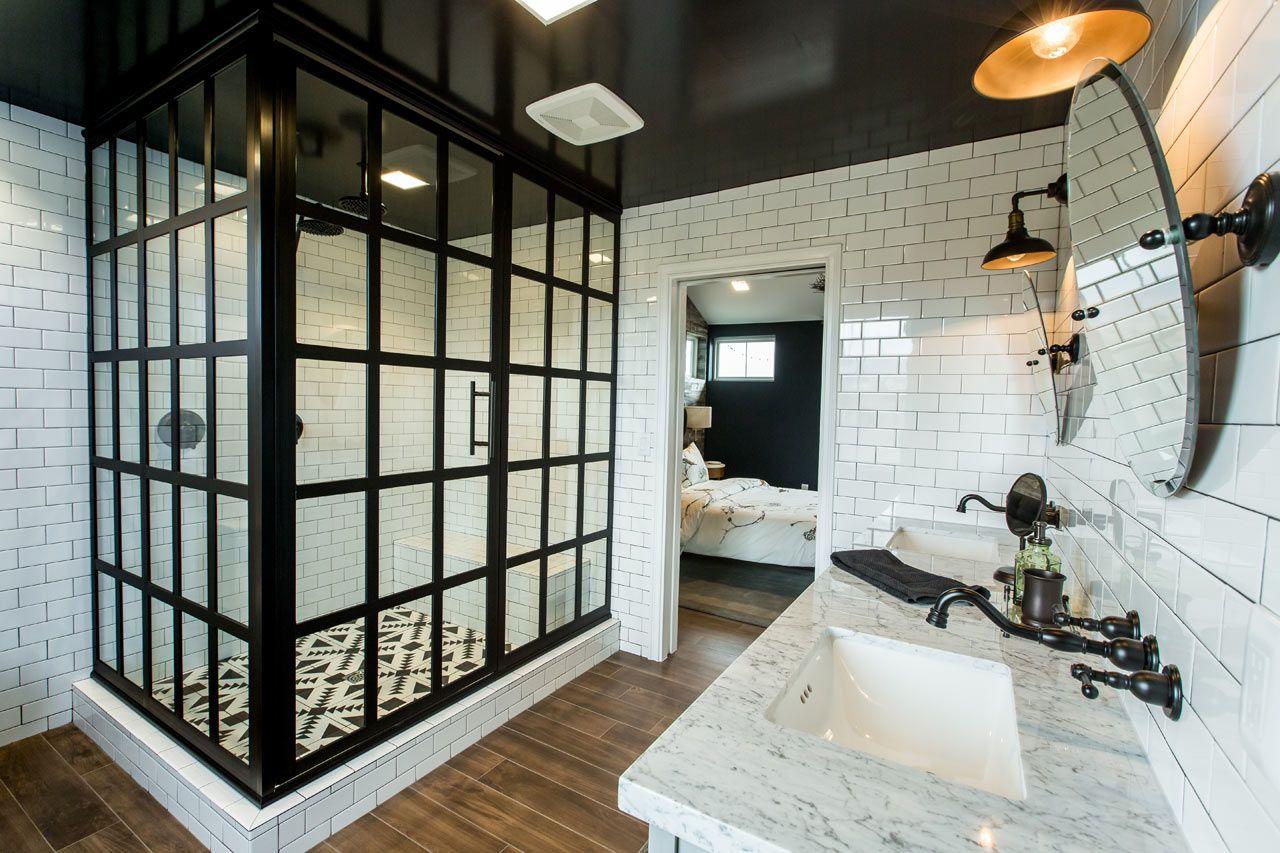 Coastal shower doors launches modern shower doors by bobby - Bobby berk interior design ...