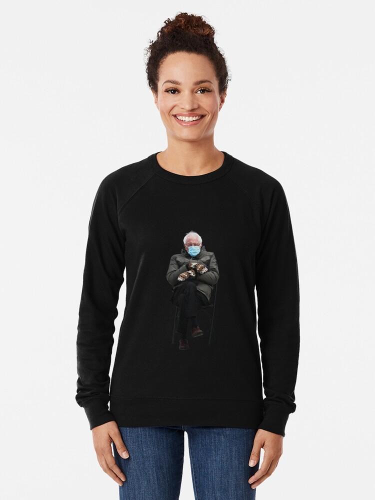 Bernie Sanders Lightweight Sweatshirt By Sasharusso Nel 2021