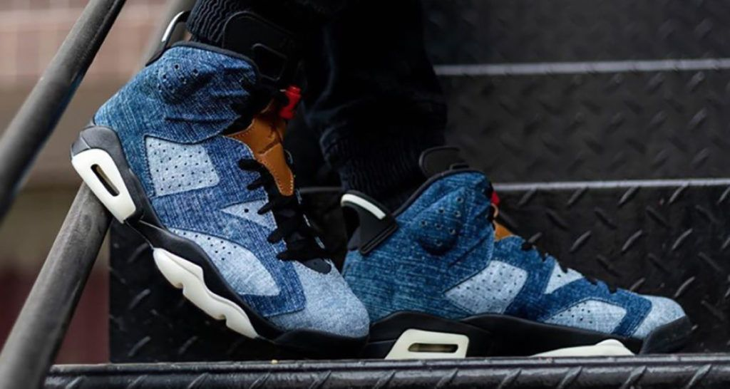 The Air Jordan 6 Retro Denim are available now for just $127.49 ...