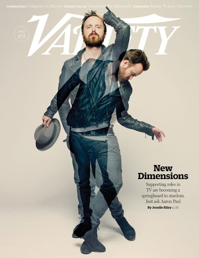 I Adore Aaron Paul And This Cover Is Beautiful