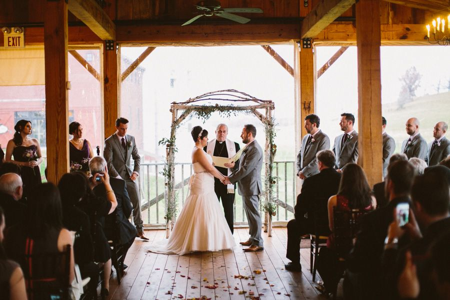 lauren mike barn at gibbet hill wedding photography