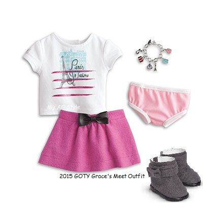 American Girl Doll Grace's Meet Outfit