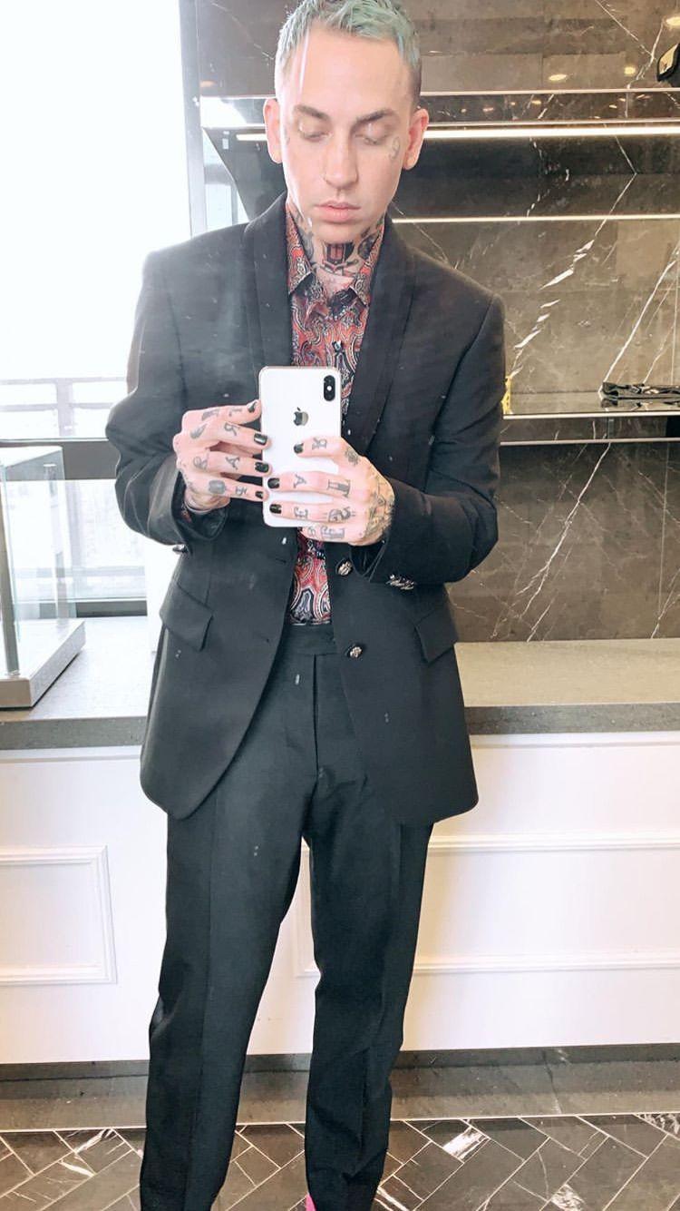 Blackbear Daddy Bear Fashion Single Breasted Suit Jacket