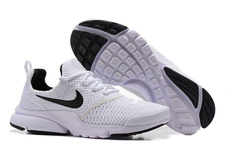 faf21ec9d1ec 2018 Legit Cheap Nike Unisex Presto Fly Running Shoes White Black ...