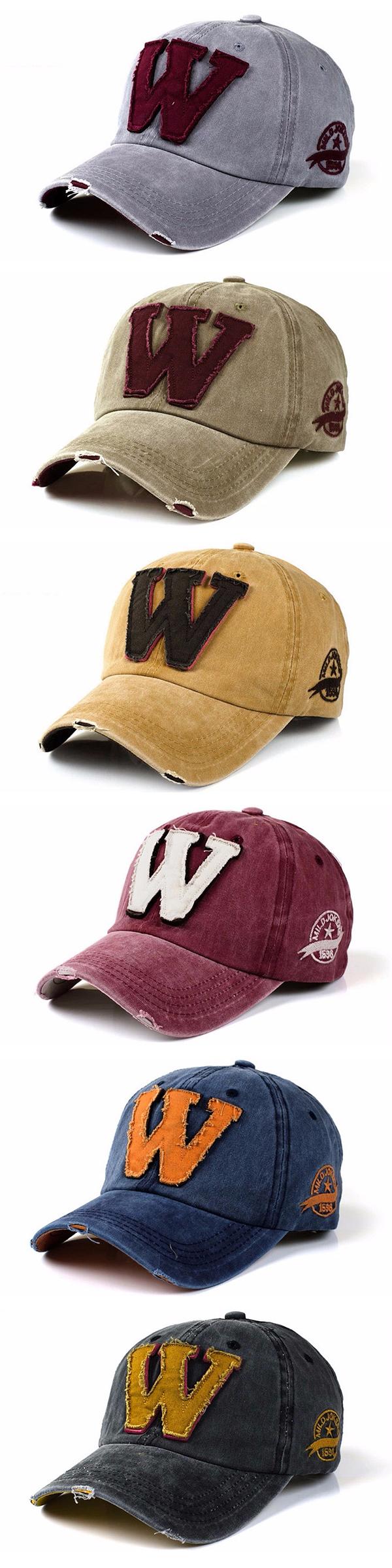 48bf4663c5d Men Women Baseball Cap   Trucker Cap   Sport Snapback Washed Hip-hop  Adjustable Hat