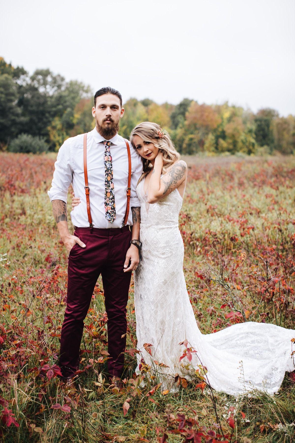 A Dreamy Fall Bohemian Wedding In Michigan | Fall wedding photos, Fall  wedding gowns, Bohemian wedding