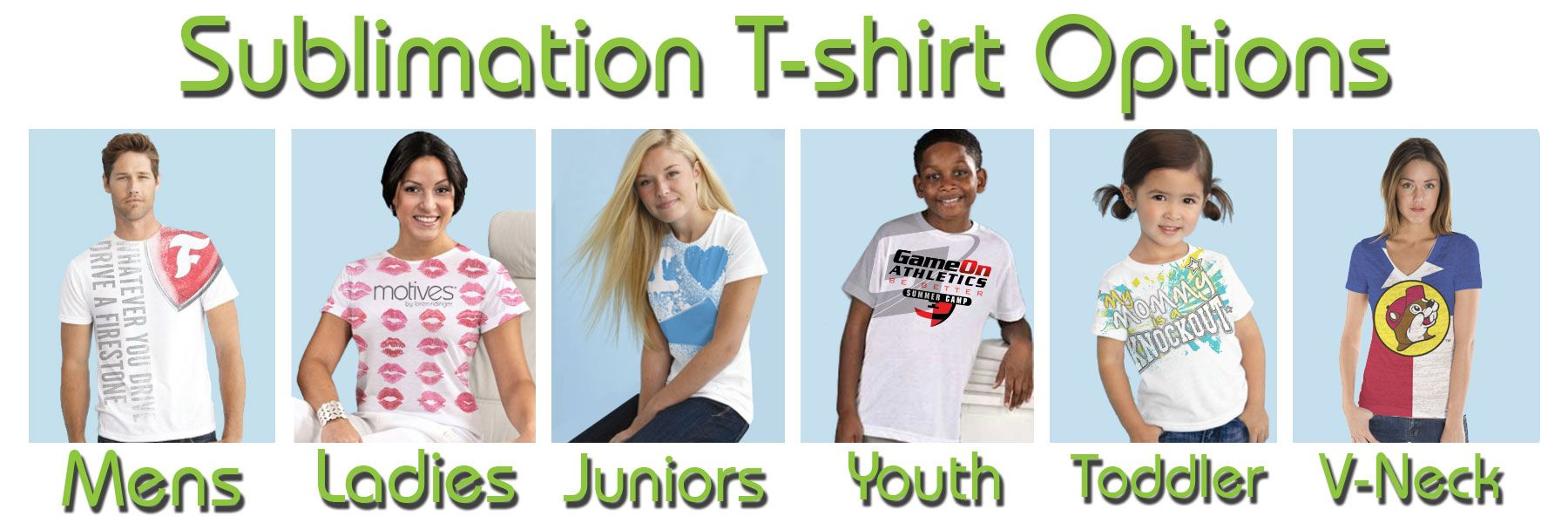 Which is Best with Dye Sublimation Printing on T-shirts? (1