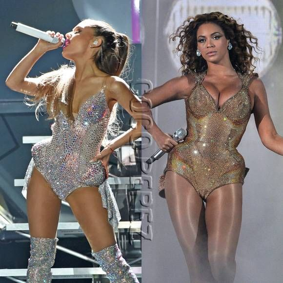 Ariana Grande 2014 VMA performance | ariana grande beyonce who wore it better | Fashion Junky ...