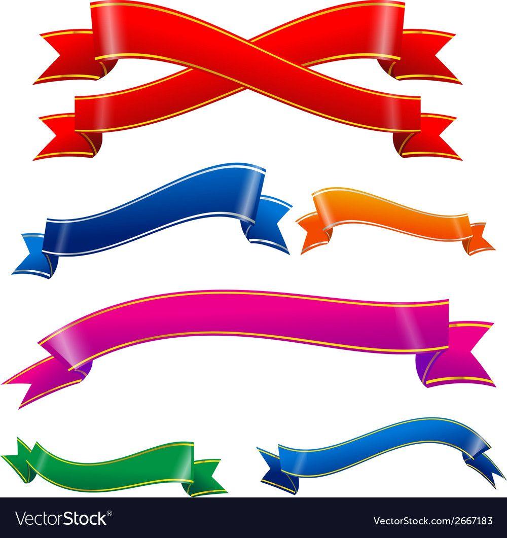 Ribbon Tag 004 Royalty Free Vector Image  VectorStock