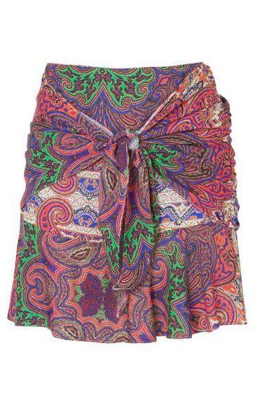 Saia faixa lenço