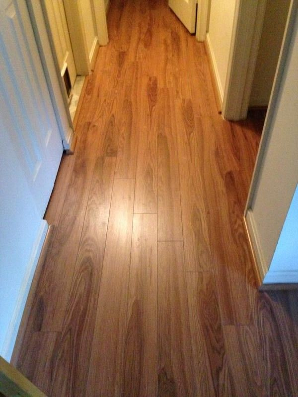 Hot flooring trend 100 would recommend crystal springs for Crystal springs hickory laminate