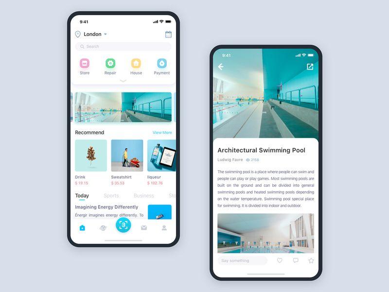 Smart Community App App Design App Design Inspiration Web App Design