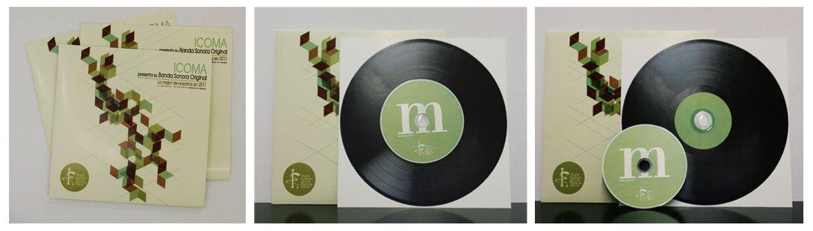 Envío de marketing directo del Colegio de Médicos de Álava para la entrega de la memoria anual. Julio 2012.