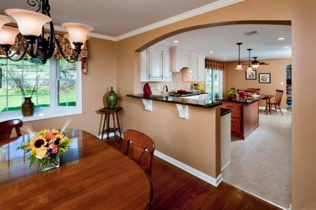 13 Affordable Half Wall In Kitchen For Breakfast Bar Idea Half