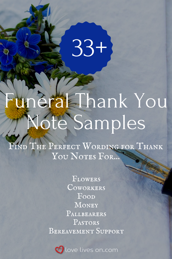 33 best funeral thank you cards pinterest funeral note and 33 funeral thank you note wording samples izmirmasajfo