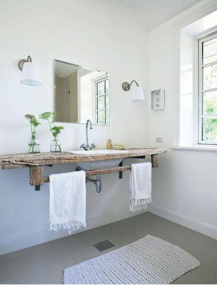 Encantadores baños rústicos Ideas para, Bath and Pallets