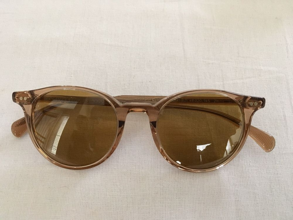 ef26667725a RARE OLIVER PEOPLES  465 New Delray Sun Blush Rose Sunglasses OV5314SU   OliverPeoples  Round