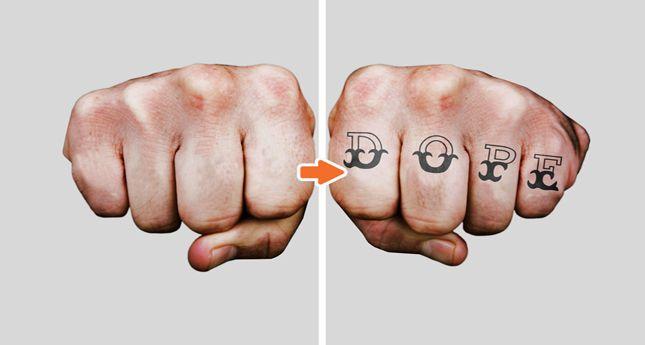 Tattoo Mockup Photoshop Templates Pack on Go Mediau0027s Arsenal - tattoo template