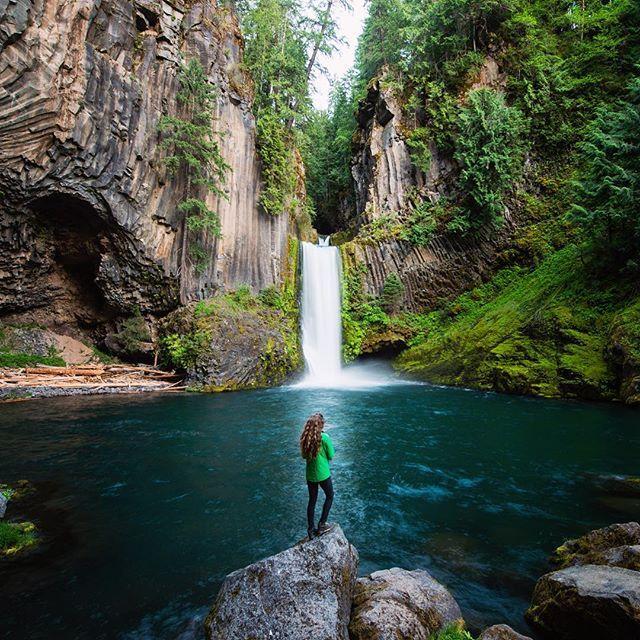 Hiking Tours Usa: Toketee Falls, Oregon