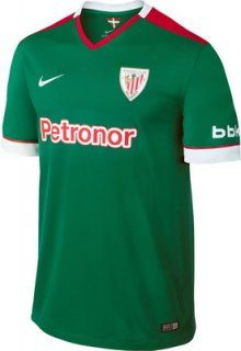 The Nike Athletic Bilbao Kids (Boys Youth) Away Jersey 2014 – 2015 is  Inspired by the Basque Country Flag. Shop at Soccer Box with Fast Delivery! 9e05aaf608916