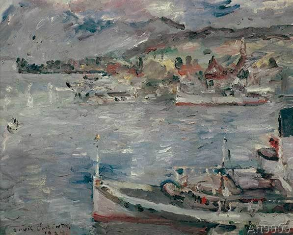 Lovis Corinth - Luzerner See am Vormittag