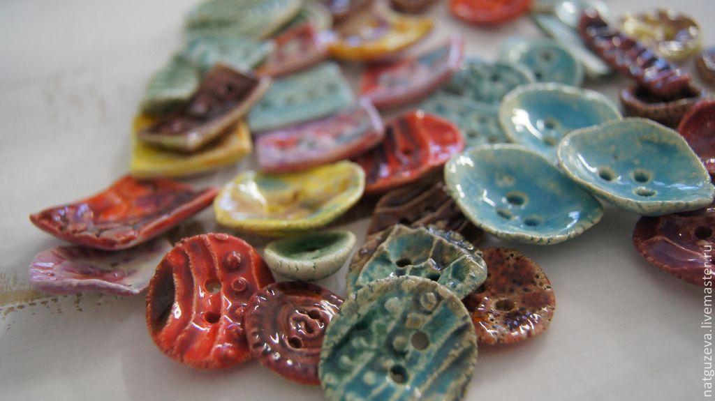 Купить Пуговкии - Пуговки, пуговицы, пуговицы декоративные, керамика ручной работы, фарфор, шамот, для шитья