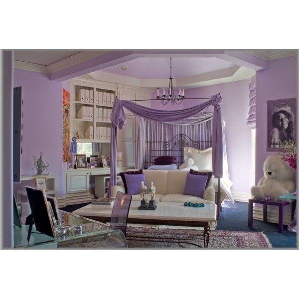 Purple Teen Girl\u0027s Bedroom - traditional - kids - seattle - by