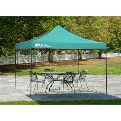 Quik Shade Solo Steel 100 10 X 10 Straight Leg Canopy Turquoise Canopy Roof Colors Gazebo