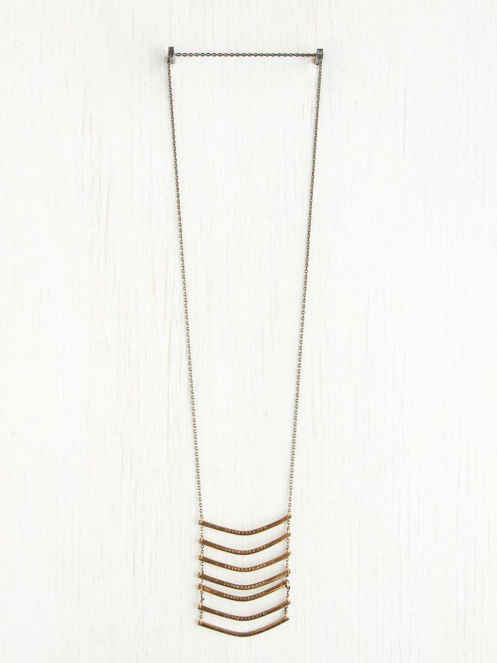 Free People Breastplate Necklace, $168.00