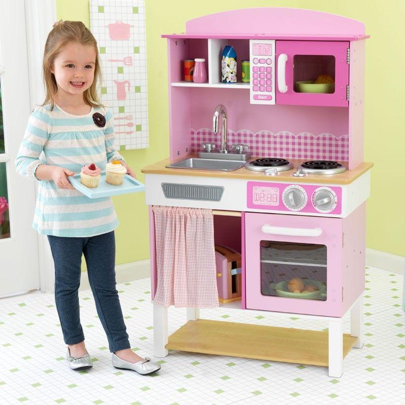 Juegos Cocina Niños | Cocina De Juguete Hogarena De La Marca Kidkraft Para Juegos De