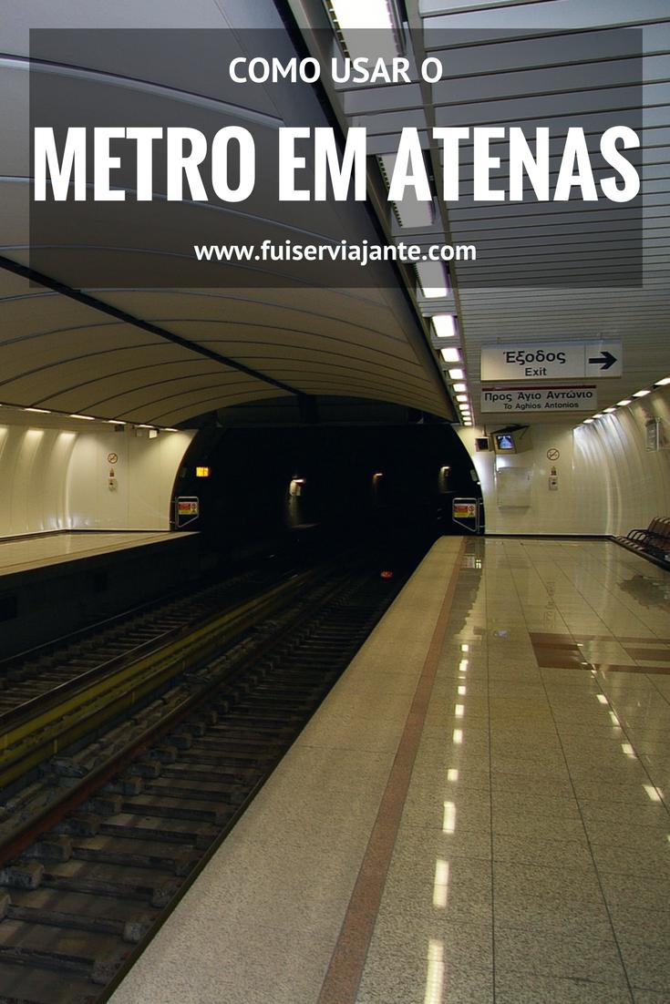 Como usar o metrô em Atenas. Quais são as linhas, quais as principais estações, preço de bilhetes e como ir e vir do aeroporto para o centro de metrô. Tudo sobre o metrô de Atenas!