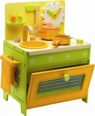 Amazon Com Daisy S Kitchen Set Toys Games Play Kitchen Accessories Kids Wooden Toys Wooden Play Kitchen