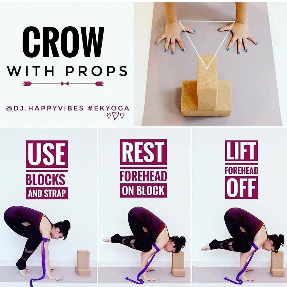 Crow Pose Yoga By Candace
