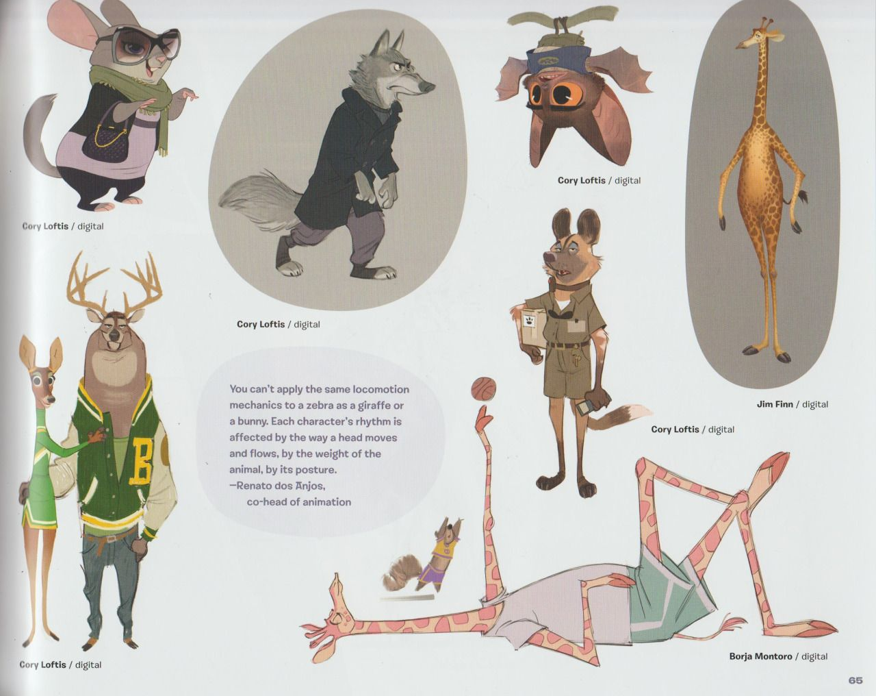 Picture Book Character Design : Concept art book parte more pages by zootopiafanart on