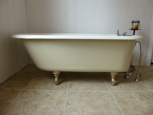 Vintage American Standard Clawfoot Tub From 1939 Sandblasted And