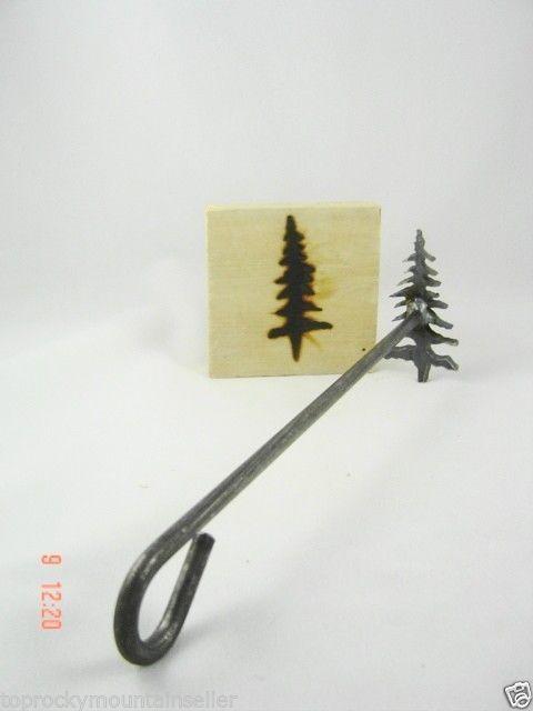 Pine Tree Branding Iron Craft Steak Wood Branding Irons Wood Branding Wood Branding Iron Branding Iron