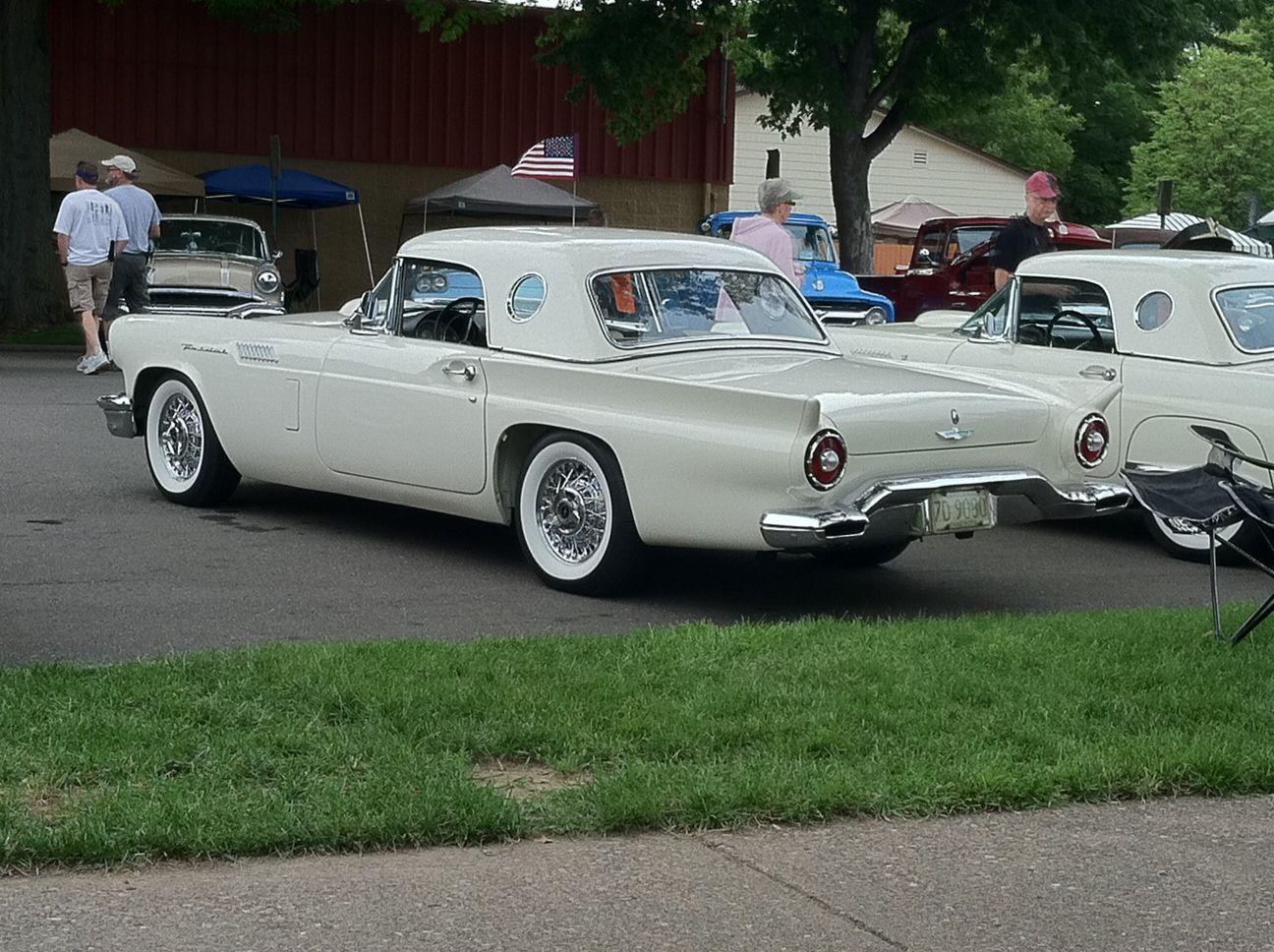 1957 T-Bird (Back To The 50\'s Car Show. St.Paul MN) | Custom ...