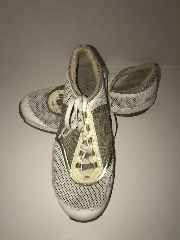 Nike Power Channel Golf Shoe White Grey