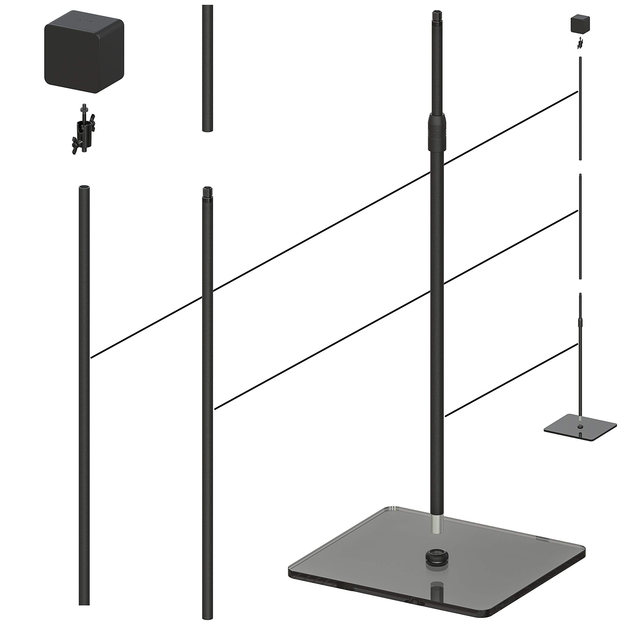 Skywin Vr Glass Stand Htc Vive Compatible Sensor Stand And Base Station For Vive And Rift Constellation Sensors 2 Pack Htc Vive Constellations Glass Htc