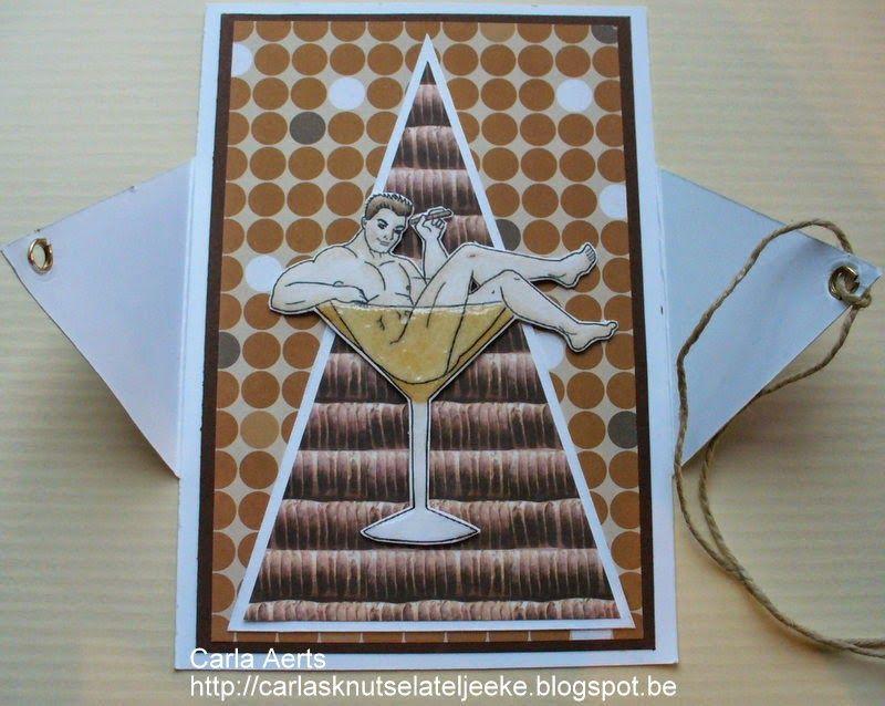 carlasknutselateljeeke: Chippendale champagne