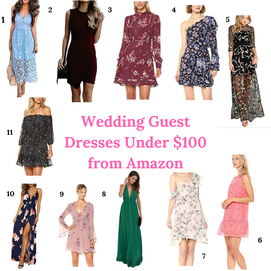 Wedding Guest Dresses From Amazon Under 100 Live On Alwaysmeliss Com Amazon Weddingguestdr Amazon Dresses Wedding Guest Dress Best Wedding Guest Dresses [ 1080 x 1080 Pixel ]