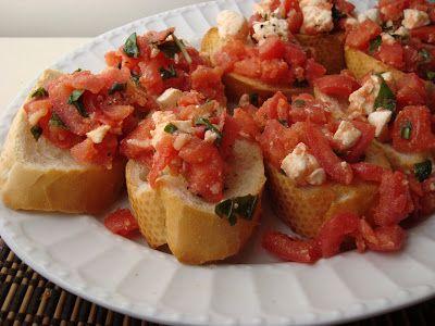 What's Cookin, Chicago?: Bruschetta with Tomato & Mozzarella