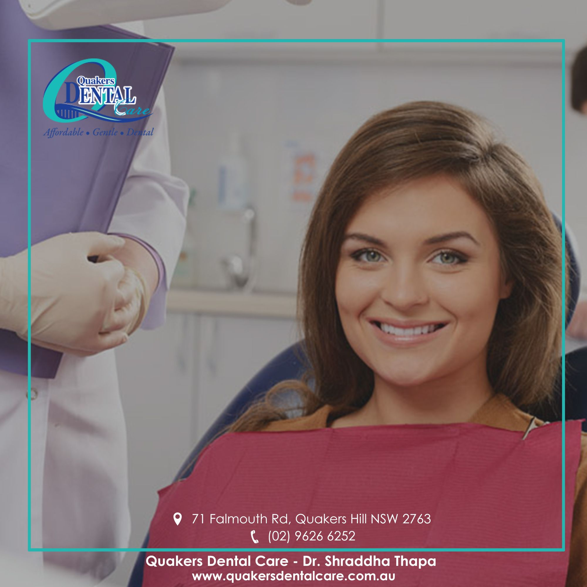 Our team of highlyskilled and qualified dentists are