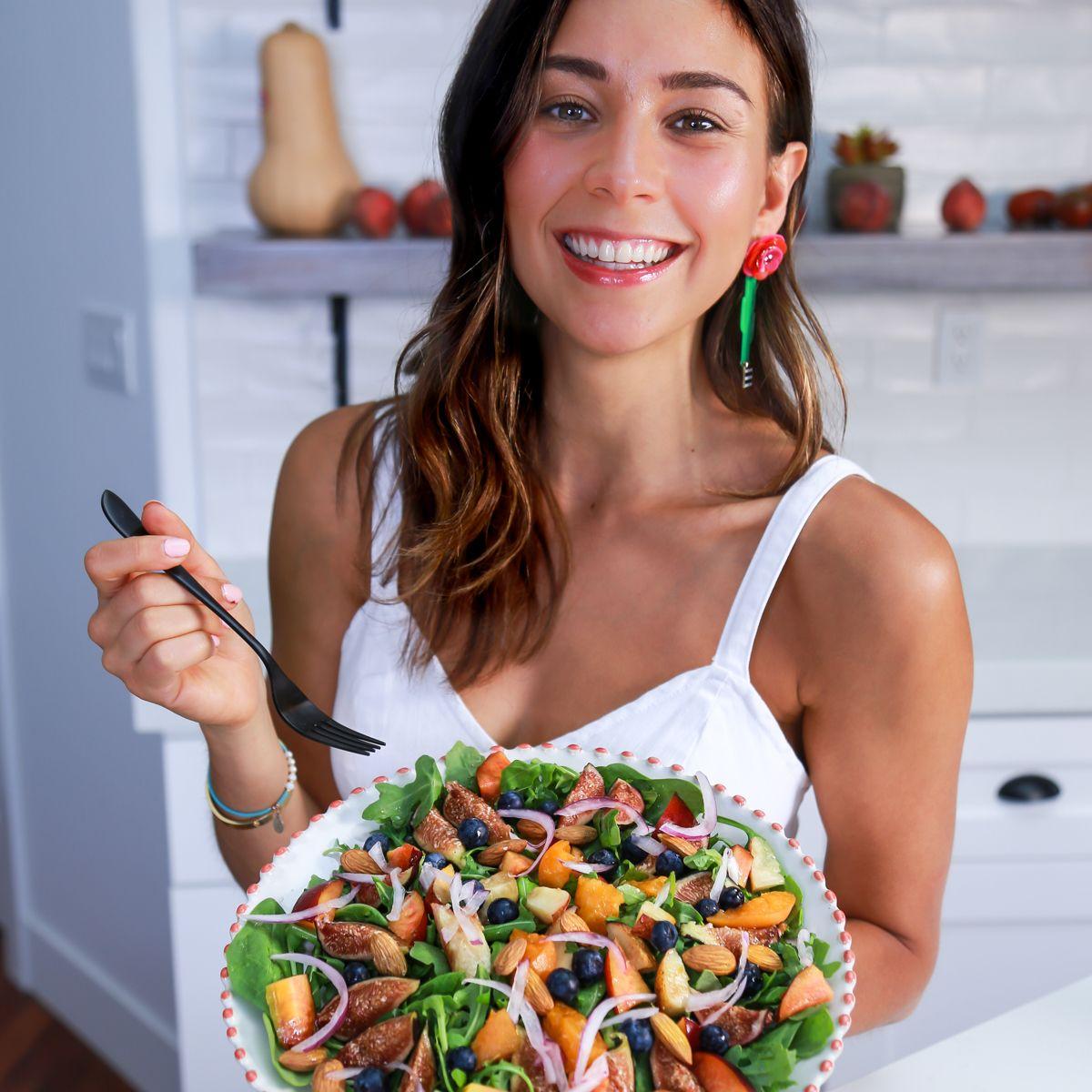 rawvana saláták a fogyáshoz