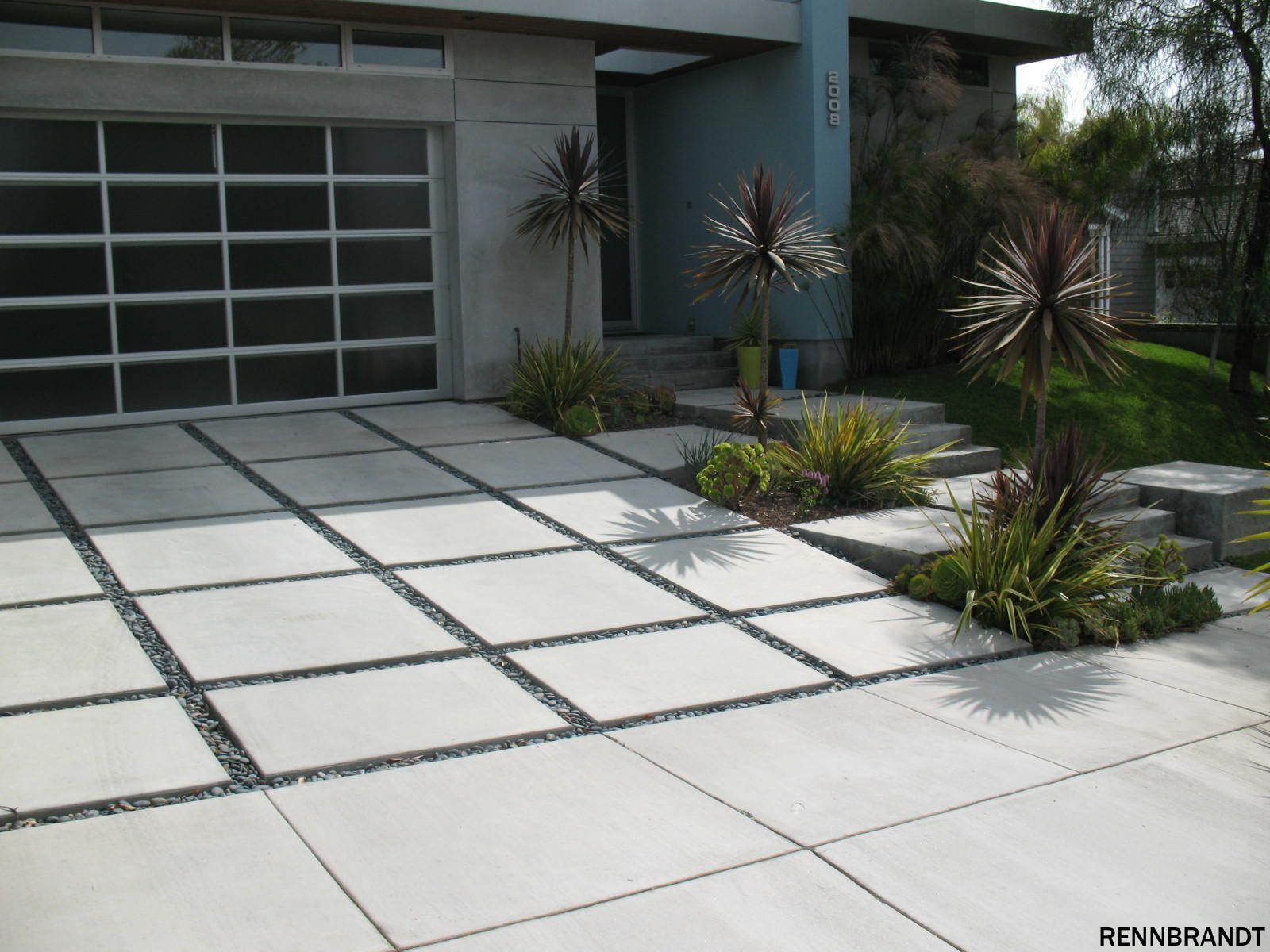 Contemporary Driveway Garage And Sheds Cost Garage Ideas Pinterest Tope