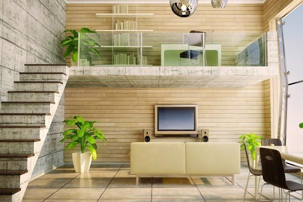 Best Duplex House Interior Designs Living Room Modern Style 400 x 300