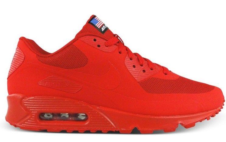 full red air max 90