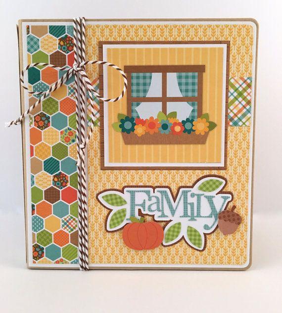 Family Scrapbook Album Kit Or Premade Scrapbook Album Scrapbook