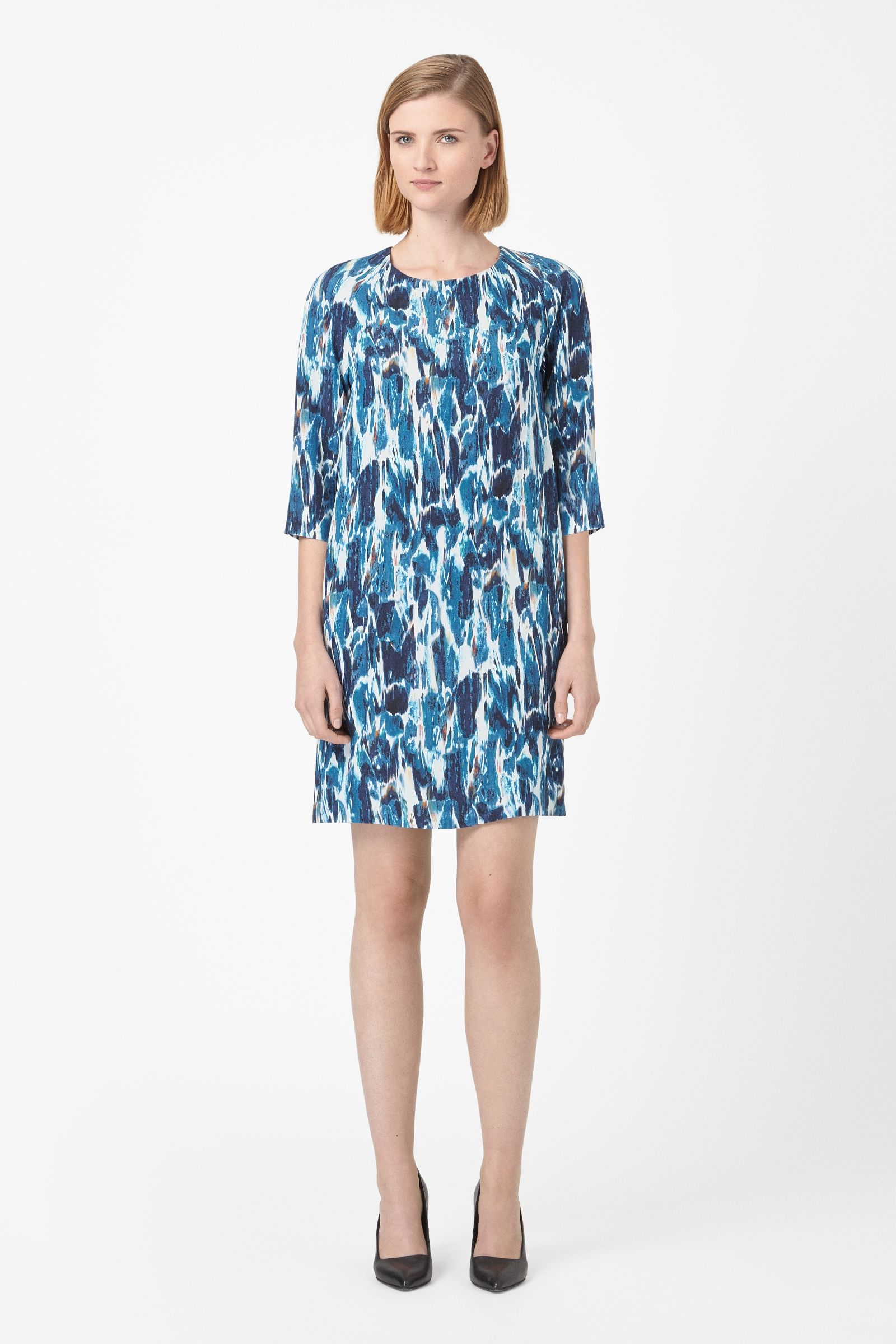 Fluid printed dress | COS wishlist | Pinterest | Woman, Printing and ...